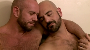 Icon Male - Muscle and hairy DILF Matt Stevens reality rimjob