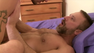 IconMale.com: DILF Dirk Caber enjoying big penis Ty Roderick