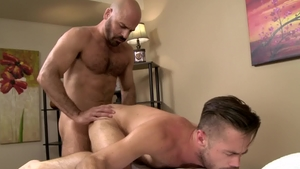 IconMale.com - Mike Demarko with Adam Russo blowjob cum
