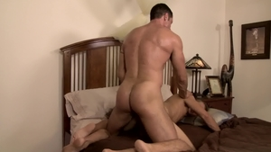 IconMale.com: Muscled Alex Greene caught fucking in the ass