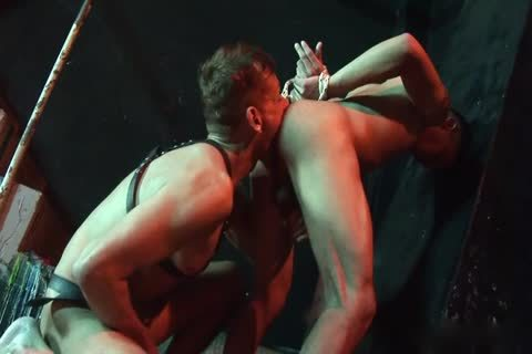 Blindfolded And Roped twink Lured Into homo bdsm Play