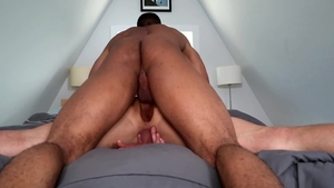 NextDoorStudios - Gay Trent King raw receiving facial outdoors