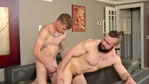 NextDoorRaw: Ryan Jordan together with Mathias hardcore facial