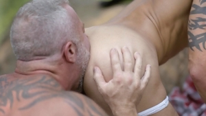 Icon Male: Casey Everett and Lance Charger spanking