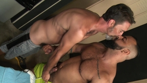Extra Big Dicks - Piercing Tony Orion rough rimming anal fucks