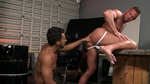 ExtraBigDicks - Athletic gay Jay Alexander lusts nailed rough