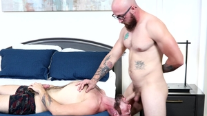 ExtraBigDicks: Gay Dustin Steele smashed by Jack Winters