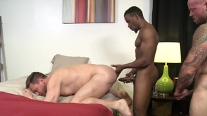 ExtraBigDicks.com: Bald Sean Duran wishes hard sex