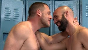MenOver30 - Lex Ryan with Dustin Steele condom getting facial