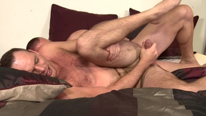 Men Over 30: Caucasian Devin Adams rimming in the morning