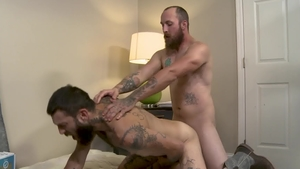 Men Over 30 - Tattooed Matt Muck raw rimming fucked anal