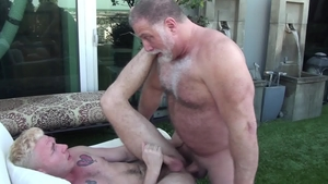MenOver30.com: Mac Savage with Rick Kelson masturbating