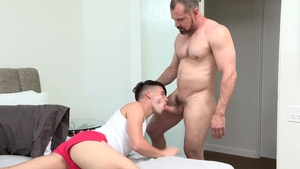 DylanLucas: Sloppy fucking with Max Sargent and Addison Blue