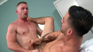 PrideStudios: Cesar Rossi & piercing Scott Riley raw rimming