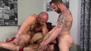 PrideStudios.com - Javier Cruz threesome sex tape