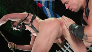 HotHouse.com: Hairy Skyy Knox jizzed in panties