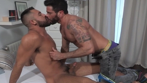 HotHouse - Very tasty and hairy Gabriel Taurus moaning