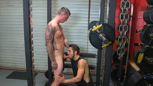 Hot House: Young Dante Colle with Dane Stewart in the gym