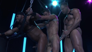 HotHouse.com - Bodybuilder Ryan Rose touches huge cock