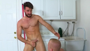 HotHouse.com: Thick Leo Luckett plowed by uncut cock stud