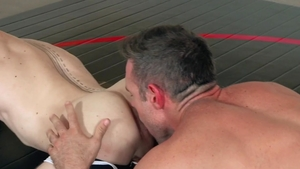 HotHouse: Alex Mecum plus Jacob Peterson bareback anal fucks