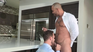 Falcon Studios: Bodybuilder Jason Vario loves Logan Moore