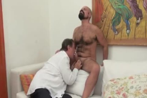 old Daddy almost cant Take big cock
