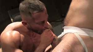 Raging Stallion - Spit together with Angel Rock & Tyler Wolf