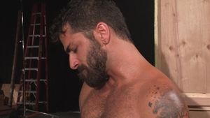 RagingStallion - Hairy Mark Sanz butt sex rimming
