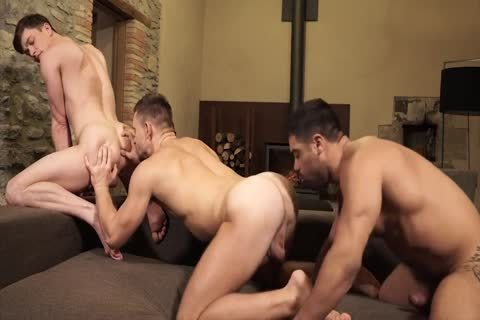 Andrey Vic, Wagner Vittoria And Ruslan Angelo - Super nail For Three - wazoo pound, blowjob, Cumshots, bare