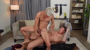 Drill My Hole: Piercing big cock Andy Taylor doggy
