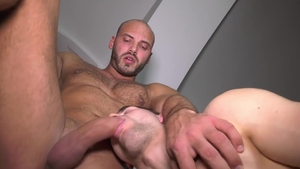FrankfurtSexStories: Hairy and muscled Thomas Friedl facefuck