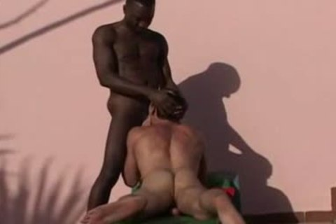Interracial - black and White, valuable plow